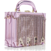 AREA lilac mirrored handle bag - Hand bag -