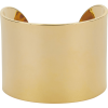 ARME DE L'AMOUR Gold Cuff Bracelet - Bracelets -