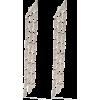 AS29 18kt rose gold Cascade triple diamo - Kolczyki -