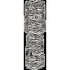 ATTICO zebra print ruched maxi dress - Dresses -
