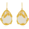 AURÉLIE BIDERMANN Françoise gold-plated - Earrings -