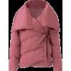 AVEC LES FILLES dark pink puffer coat - Jakne i kaputi -