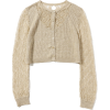AVERY ROW / Linen race short cardigan - Cardigan -