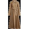 A.W.A.K.E. MODE Pleated Wool-Blend Coat - Jakne in plašči -