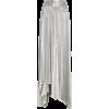 A.W.A.K.E. Metallic Asymmetric Plissé Ma - Skirts -