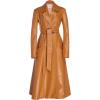 A.W.A.K.E leather trench - Jacket - coats -