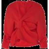 A.W.A.K.E. red blouse - Shirts -