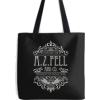 A.Z. Fell and Co tote by firlachieldraws - Дорожная cумки -