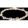 AZLEE  18kt gold & diamond-pavé link-cha - Narukvice -