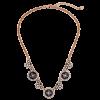 Abela Floral Statement Necklace - Necklaces - $116.80