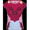 Abstract Floral Print Slim Fit T-Shirt - Majice - kratke - $42.00  ~ 266,81kn