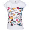 Abstract Hand Drawn Colorful Slim Fit T- - T-shirt - $42.00  ~ 36.07€