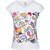 Abstract Hand Drawn Colorful T-shirt - T-shirts - $42.00