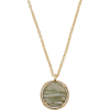 Accessorize ARIA SEMI PRECIOUS STONE PEN - Necklaces - £15.00  ~ $19.74