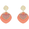 Accessorize Layered Enamel Disc earrings - Серьги -