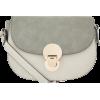 Accessorize Tessa Lock Saddle Bag - Mensageiro bolsas -
