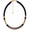 Accessorize black and gold necklace - Ogrlice -