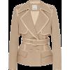 Acler Graham Linen Blend Jacket - Jacket - coats - $660.00