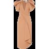Acler Redwood Ruffled Crepe Midi Dress - Dresses -