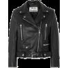 Acne  Studio leather biker jacket - Jacket - coats - $1,553.00