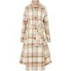 Acne Studios checked felt coat - Jacket - coats -
