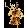 Acorn autumn illustration - イラスト -