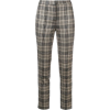 Adam Lippes - Plaid fitted trousers - Capri & Cropped - $790.00