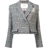 Adam Lippes - Tweed fitted blazer - Suits - $1,450.00