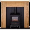 Adam New England Stove Suite in Oak - Furniture -