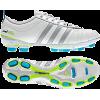 Adidas - Adipure Iv Trx Fg W Womens Football Shoe In Zeromet / Silvermet / Intensblu Zeromet / Silvermet / Intensblu - Tenis - $84.95  ~ 72.96€