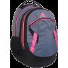 Adidas Unisex-Adult Lucas Backpack 5132097 Backpack Thunder Grey/Fluroscent Pink - Backpacks - $33.30