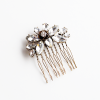 Adina Royal Rose and Crystals Hair Comb - Other jewelry - $24.58  ~ 21.11€