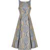 Adrianna Papell Abstract Metallic Fit an - Dresses -