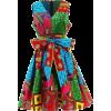 African print dress ankara clothing - Haljine -