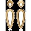 Agmes Eva Gold Vermeil Earrings - Earrings -