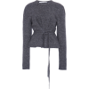 Agnona Cashmere-Blend Belted Sweater - Pullovers -