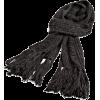 Ak Anne Klein Women's Solid Running Stitch Muffler Granite Grey - Sciarpe - $27.99  ~ 24.04€