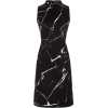 Akris Marble PrintShift Dress - Dresses -