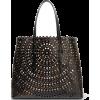 Alaïa Laser-cut leather tote - Travel bags -