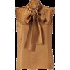 Alberta Ferretti Bow Tie Blouse - Shirts -