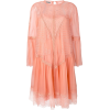 Alberta Ferretti lace panel dress - Платья -