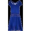 Alberta Ferretti, pleated silk dress - Dresses -