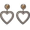 Alessandra Rich - Crystal earrings - Orecchine - $170.00  ~ 146.01€