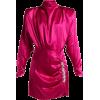 Alessandra Rich - Satin midi dress - Dresses - $1,342.00
