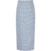 Alessandra Rich Sequined Tweed Midi Skir - Skirts -