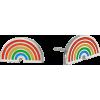 Alex and Ani Color Infusion Rainbow Stud - Aretes - $24.00  ~ 20.61€
