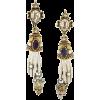 Alexander McQueen King Queen earrings - Uhani -