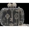 Alexander McQueen Queen and King clutch - Clutch bags -