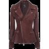 Alexander McQueen leather jacket - Jacket - coats -