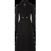 Alexander Mcqueen Black Coat - Jacket - coats -